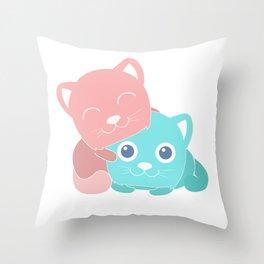 AdorableInc Throw Pillow