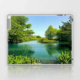 Aqua Lake Laptop & iPad Skin