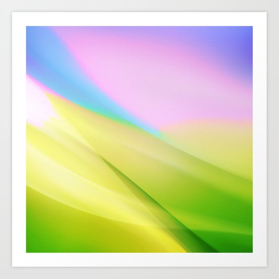 SPRING LIGHTS Art Print