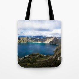 Quilotoa, Ecuador Tote Bag