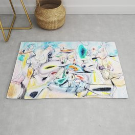 Arshile Gorky - Good afternoon mrs lincoln - Digital Remastered Edition Rug