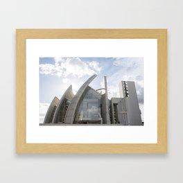 Rome,  Church of the Three Sails Framed Art Print