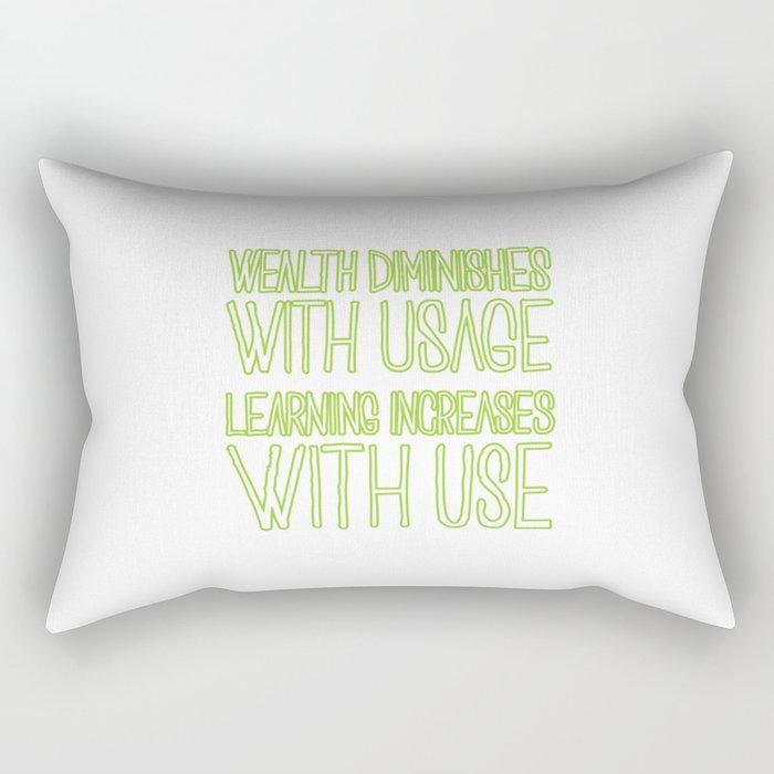 With Use Rectangular Pillow