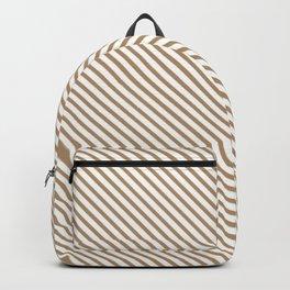 Iced Coffee Stripe Backpack