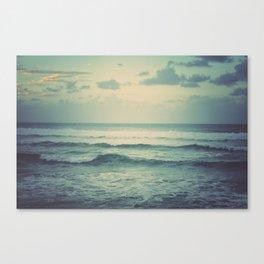 Evening Ocean Canvas Print