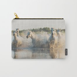 runaway horses ... Carry-All Pouch