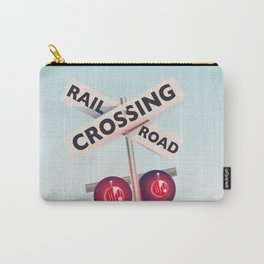 American Railroad crossing Carry-All Pouch