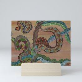 """Serpenti"" by ICA PAVON Mini Art Print"