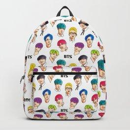 BTS Colorful Backpack