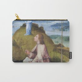 Hieronymus Bosch op Patmos Saint John on Patmos Carry-All Pouch