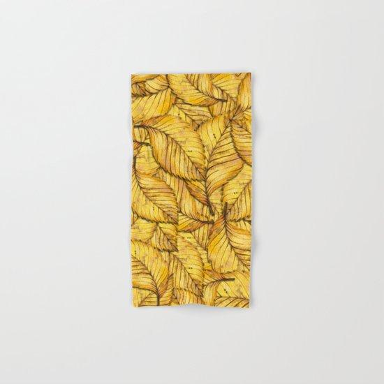 Autumn Leaves 02 Hand & Bath Towel