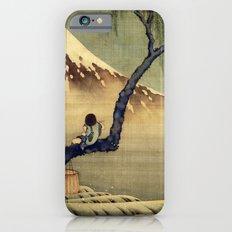 Katsushika Hokusai Boy Viewing Mount Fuji iPhone 6s Slim Case