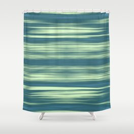 Abstraction Serenity in Afternoon at Sea Shower Curtain