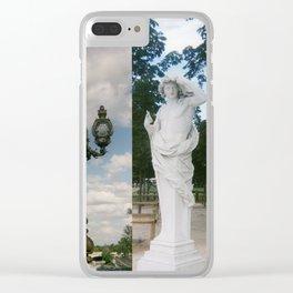 Paris Triptych Clear iPhone Case