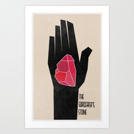 The Sorcerer's Stone (The Boy Who Lived 1 of 8) Art Print