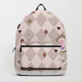 Pastel Cupcake Dessert Girl Backpack