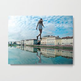 Back To Square One Metal Print