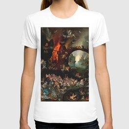 """Jan Brueghel The Elder """"Christ in Limbo"""" (Riggisberg 1593) T-shirt"""