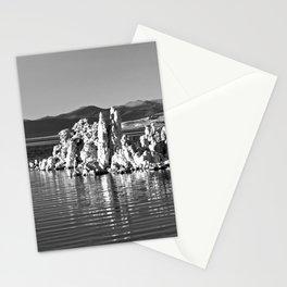 Tufa Reflections at Mono Lake Stationery Cards