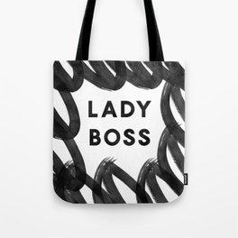 Lady Boss | Art | Pattern | Digital Design Tote Bag