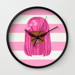 HANA TODORIKI x KWEEN IN KANDILAND Wall Clock