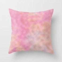 Mottled Rainbow Opalescent Foil Throw Pillow