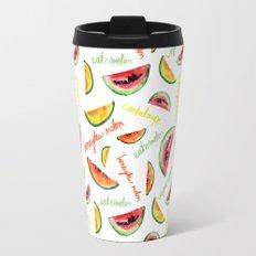 Melon pattern Travel Mug
