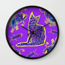 The Electric Mau Wall Clock