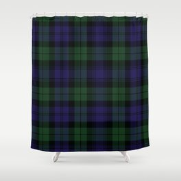 BLACK WATCH TARTAN Shower Curtain