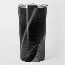 Banana leaf allure - night Travel Mug