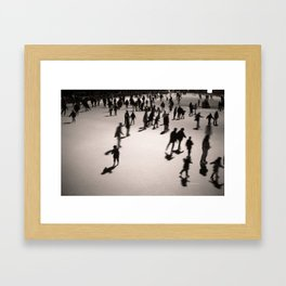 Holiday on Ice Framed Art Print