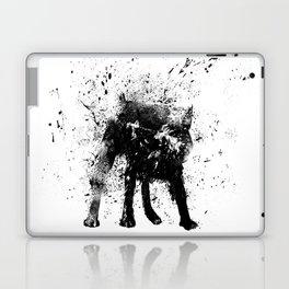 wet dog Laptop & iPad Skin