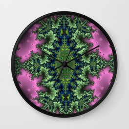 Fractal Rhombus Wall Clock