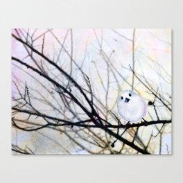 Winter Birdie Canvas Print