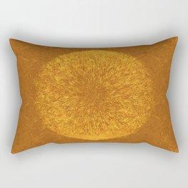 GOLDEN PATTERN I Rectangular Pillow