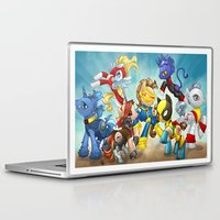 mlp Laptop & iPad Skins featuring MLP X-Men by Kimball Gray