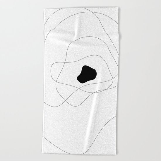 Abstract Infinite Beach Towel