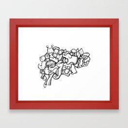 Your Brain on Art Framed Art Print