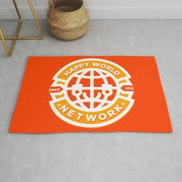 HAPPY WORLD NEWS NETWORK Rug