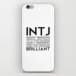 INTJ iPhone Skin