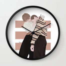 Henrik Holm and Tarjei Sandvik Moe | skam cast Wall Clock