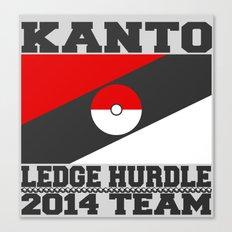 Kanto Ledge Hurdling Team Canvas Print
