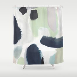 For You Blue Shower Curtain