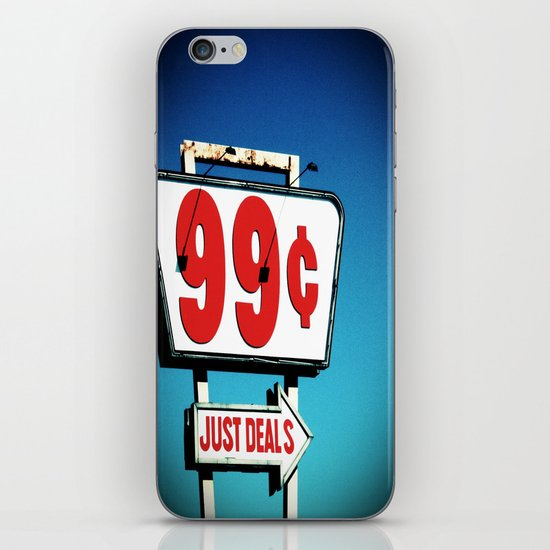 99 Cents. iPhone Skin