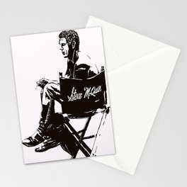 The King of Cool Stopping For a Smoke Stationery Cards