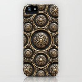 Antique Armor Pattern iPhone Case
