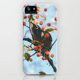 Bird & Berries iPhone Case