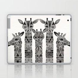 Black Giraffes Laptop & iPad Skin