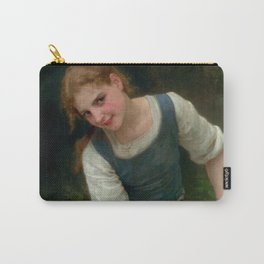 "William-Adolphe Bouguereau ""Le Gué"" Carry-All Pouch"