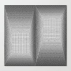 The Binary Rooms Canvas Print